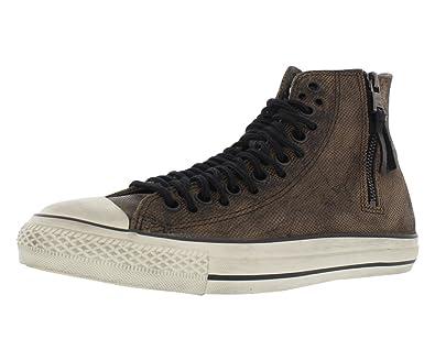 89fd95132993 John Varvatos Converse by Men s CT HI Multi Lace Zip Leather Sneaker 9 D(M