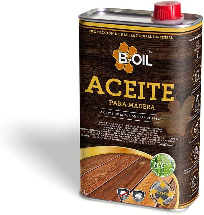 B-Oil. Impregnación de madera natural, a base de aceite de ...
