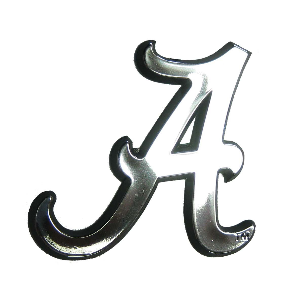 amazon com ncaa alabama crimson tide chrome automobile emblem