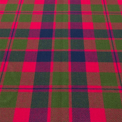 Light Weight 10oz Fabric Material Glasgow Tartan 1 Metre