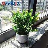 OFFIDIX Potted Artificial Plastic Plants,Mini