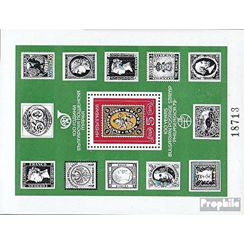 Bulgarie block91 (complète.Edition.) 1979 Exposition philatélique (Timbres pour les collectionneurs)