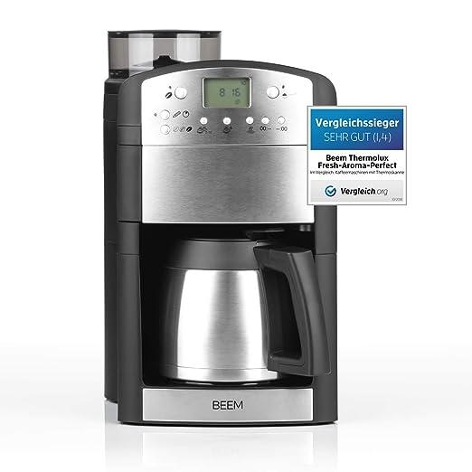 BEEM Fresh-Aroma-Perfect Thermolux | Cafetera con molinillo ...