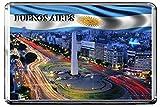 C324 BUENOS AIRES IMÁN PARA NEVERA ARGENTINA TRAVEL PHOTO REFRIGERATOR MAGNET