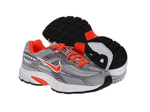 watch b89d1 47929 Nike New Women s Initiator Running Shoe Grey Total Crimson 6