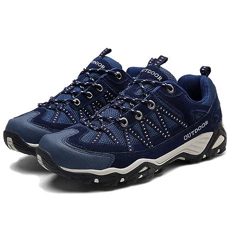 MERRYHE Zapatos De Montaña Antideslizantes Respirables Al Aire Libre para Los Hombres Que Caminan Que Caminan