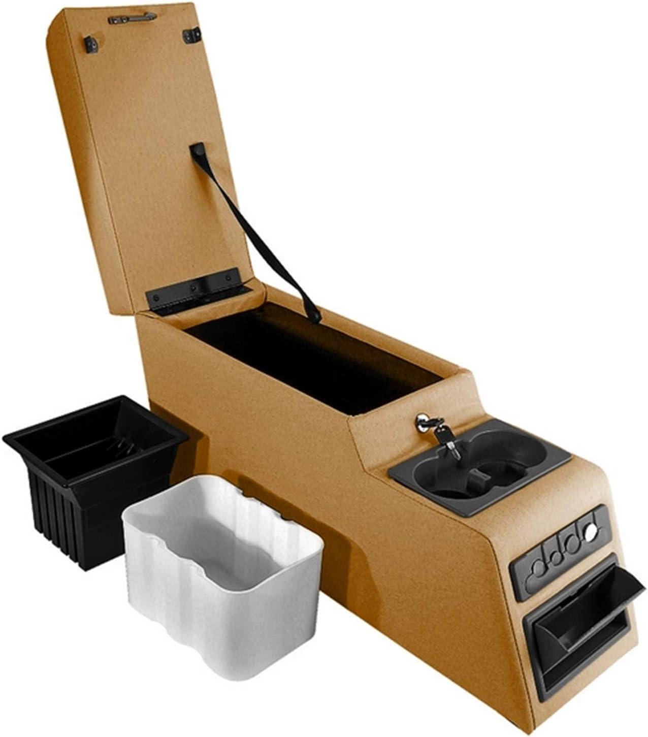 Rugged Ridge 13102.01 Ultimate Black Locking Center Console
