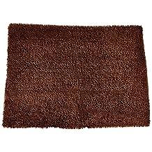 "Soggy Doggy Doormat Microfiber Chenille, Large/Mat 26 X 36"" (Dark Chocolate No Bone)"