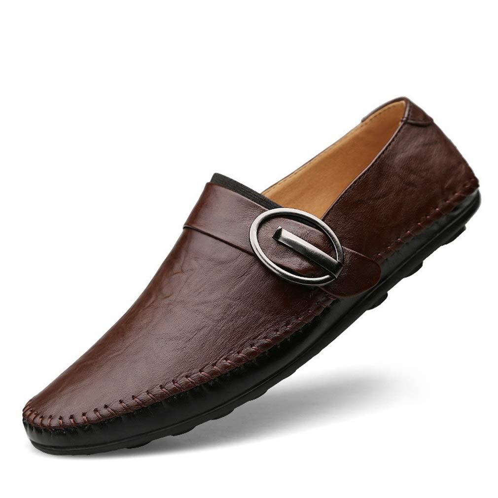 Zapatos para Hombres Cuero/Primavera / Otoño Confort/Suela Negra/Zapatos de conducción Mocasines y Sandalias Fiesta y Noche Oficina al Aire Libre (YAN) Do