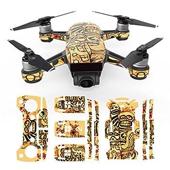 Vanvler Exquisite Camouflage Decals Waterproof Decal Skins Wrap Sticker Body Protector For DJI Spark Mini Drone