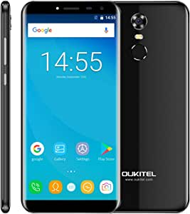 oukitel C8 entsperrtes Smartphone de 5,5 Pulgadas (13.96 cm ...