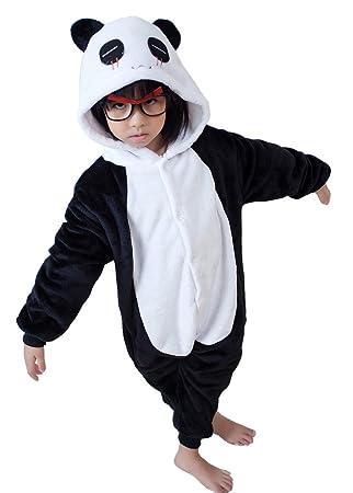 db4187b0dd150 UDreamTime Enfant Unisexe Ensemble de Pyjama motif animaux Cosplay Costume  Panda XXL