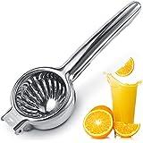 Upgraded Lemon Squeezer Meidong Super Stainless Steel 304 Hand Press Juicer Manual Citrus for Juicing Lemon & Limes, Vegetabl