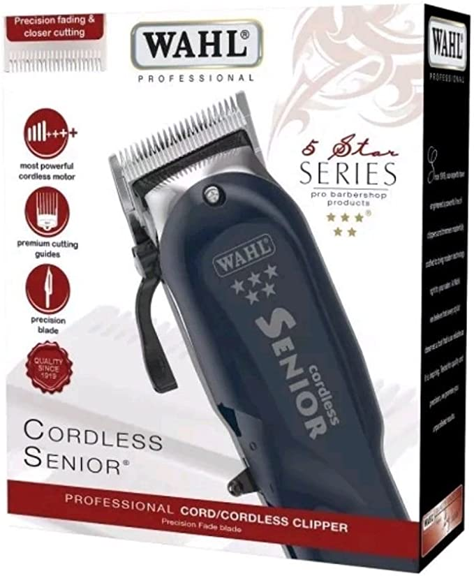 Wahl Cordless Senior Clipper: Amazon.es: Salud y cuidado personal