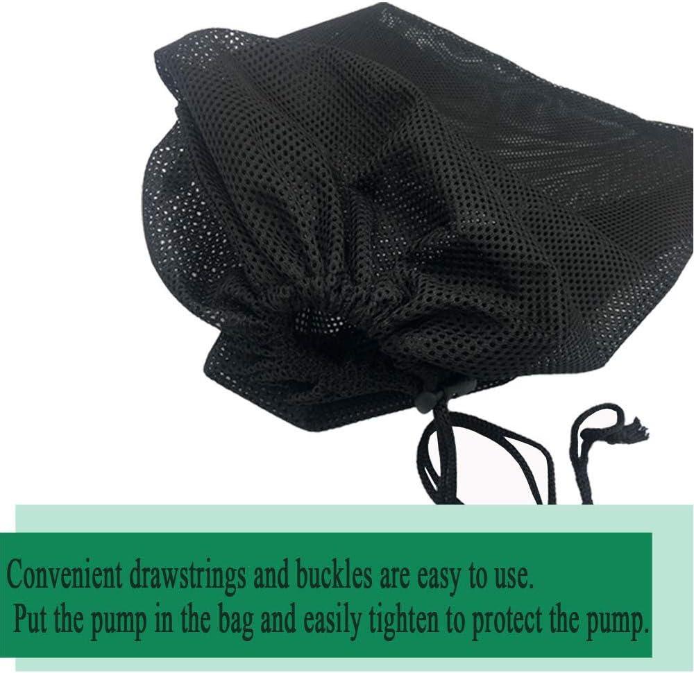 Black Media Bag Large Pump Mesh Bag for Pond Biological Filters Aquarium Filtrationpond /& Submersible Outdoor 13.8x 15.7 Pond Pump Filter Bag 2Pack hulaquan Pump Barrier Bag