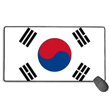 Amazon com: South Korea Flag Extended Gaming Mouse Pad