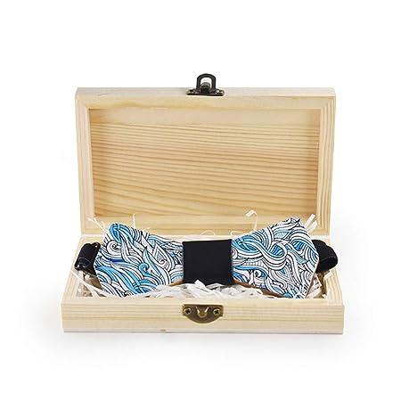 Corbatas de lazo para hombre Impresión de corbata de madera para ...