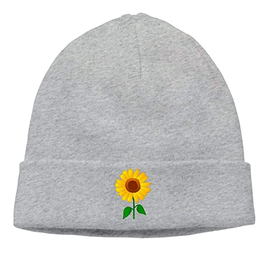 d4becfe6401d89 Cgi03T-2 Warm Woolen Cap for Unisex, Sunflower Clipart Beanie Hat at ...