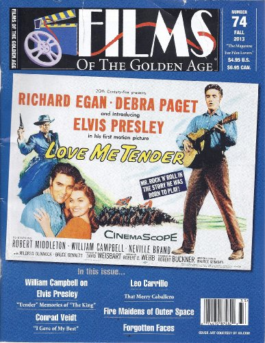 Films of the Golden Age (Fall 2013 - #74) (Films Of The Golden Age Magazine)