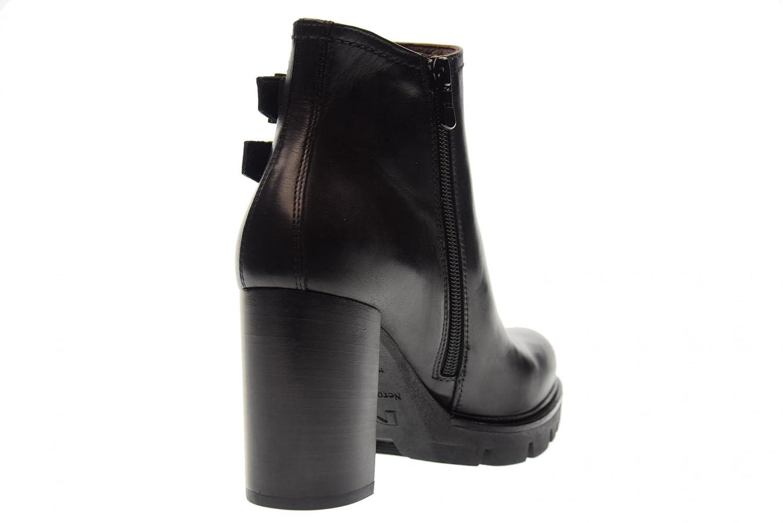 NERO GIARDINI Frauenschuhe Stiefel mit Absätzen A719915D / BLACK 100 BLACK / schwarz 7188db