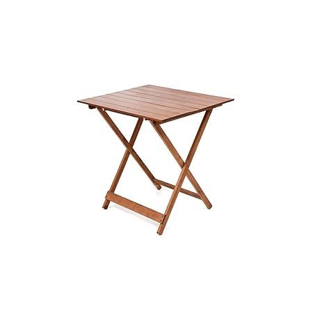 Offerte Tavoli Da Giardino Legno.Tavolo Tavoli Legno Pieghevole 60 X 80 Regolabile In Altezza