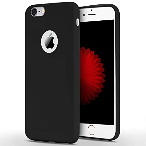 Anfire Funda iPhone 6 / 6S Plus, Carcasa Silicona Gel TPU Ultra Delgado Suave Mate Goma Protectora Caso Flexible Caja Ligero Back Case Cover Anti ...