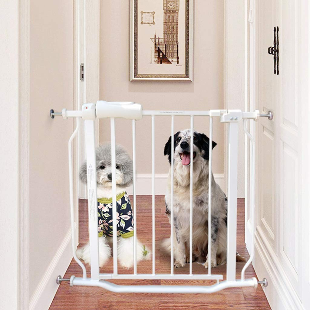 当店の記念日 階段の出入口、壁プロテクターのための小さい狭い赤ん坊の門猫/犬のドア さいず、68-103.9cmの白い金属のペットゲート (サイズ B07JG99D2G さいず : 80-91.9cm) : 80-91.9cm B07JG99D2G, タカラベチョウ:8ca932ca --- a0267596.xsph.ru