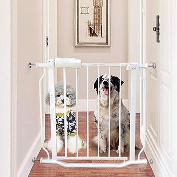 Barrera seguridad Pequeñas Puertas de bebé estrechas para Puertas de escaleras, Protector de Pared,