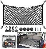 Rubik Car SUV Trunk Cargo Net Storage Organizer Wall (105x50cm) Fit For Toyota Land Cruiser Prado RAV4 Toyota Sequoia FJ…