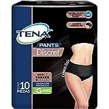 Tena Pants Tena Pants Discret Color Negro; Ropa Interior Desechable Para Incontinencia, Talla G; 10 Piezas, Color, 10…