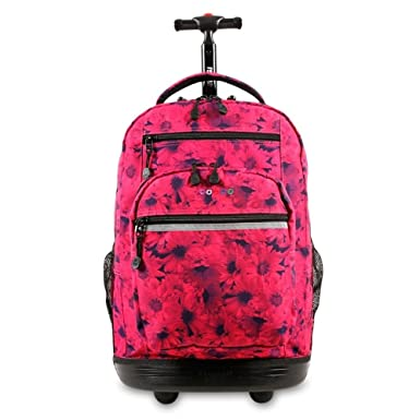 J World New York Sundance Rolling Backpack 619da9007b9ca