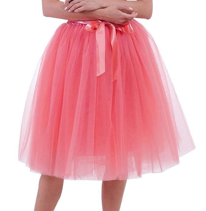 cheaper 8e22b 6efbe Gonna Tulle Donna tutù Tutu per Danza Ballerina Gonne in ...