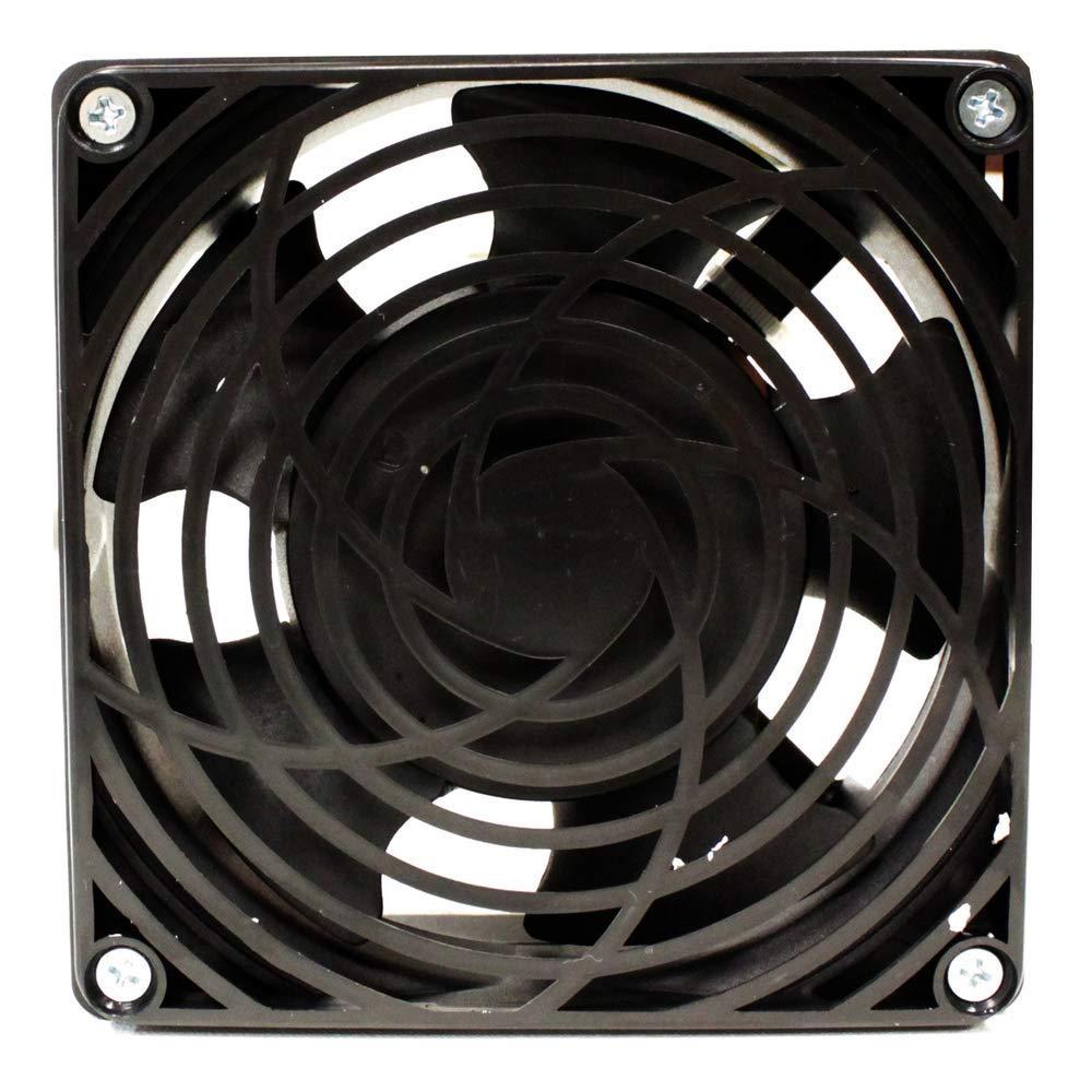 RackMatic Ventilador de techo para armario rack 19 de 120mm 220VAC con rejilla y cable de alimentaci/ón Rack