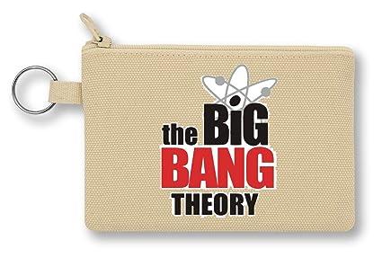 The Big Bang Theory Logo Monedero de Lona con Cremallera ...