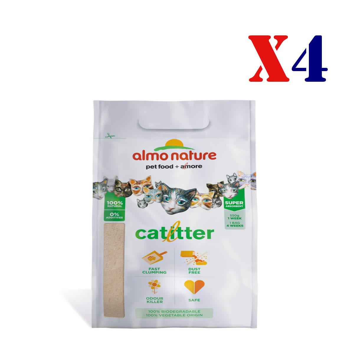 Almo Nature lettiera per Gatti 4X 4,54 kg