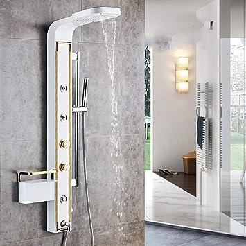 Sistema de ducha, panel de ducha Ducha de spa Torre de masaje Jets ...