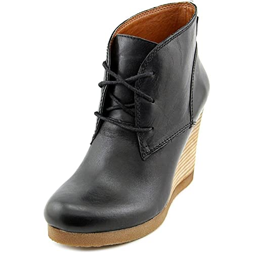 f0366a78773 Amazon.com | Lucky Brand Women's Taheeti Black Wedge | Boots