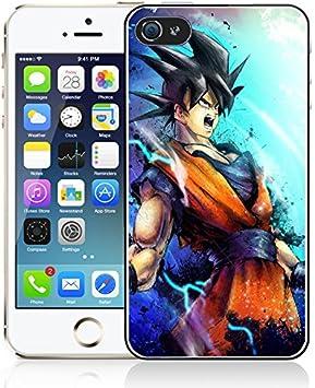 Coque iPhone 4/4S Dragon Ball Z - Goku: Amazon.fr: High-tech