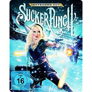 [Amazon] Sucker Punch Extended Cut (2 Discs) Steelbook [Blu ray] für nur 11,97€ inkl. Versand