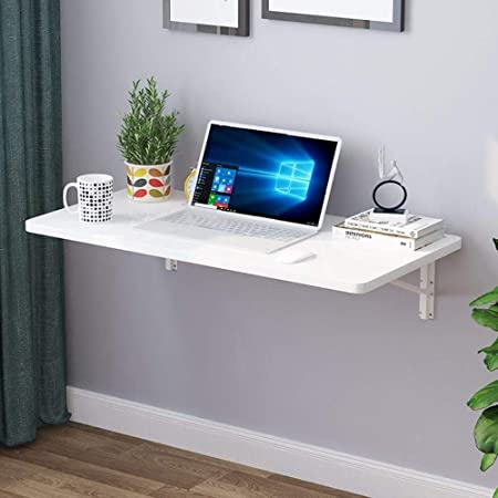 ZhuFengshop Laptop Table Montado En La Pared De La Pared Plegable ...