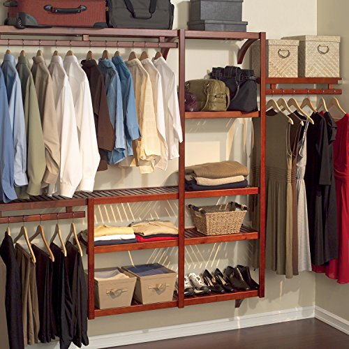 Charmant Amazon.com: John Louis Home Standard Closet Shelving System, Red Mahogany:  Home U0026 Kitchen
