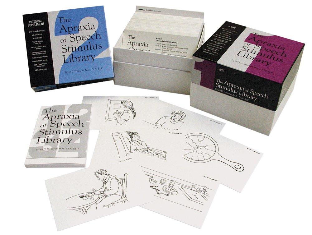 Apraxia of Speech Stimulus Library, Basic Card Set 1