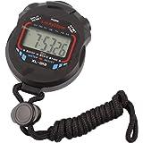 Chronomètre numérique professionnel de poche LCD chronographe résistant à l'eau chronomètre chronomètre de sport avec fonction alarme pour entraîneurs sportifs entraîneurs sportifs et arbitres