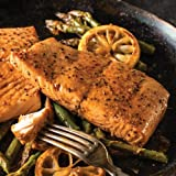 Omaha Steaks 4 (6 oz.) Marinated Salmon Fillets