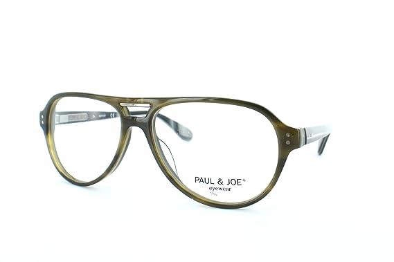 b83ad6a6c19d3 Lunettes de vue pour femme PAUL   JOE Vert BENGALI 31 ECVE 54 14 ...