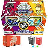 Pokemon Sun and Moon Trainer Kit: Lycanroc and Alolan Raichu, with Elite Trainer Storage Box and 2 Deck Boxes