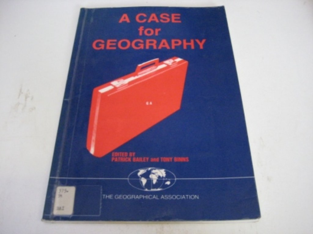 Image result for a case for geography binns