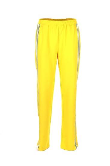 Pinko Pantalone Donna 44 Giallo Eliminare Primavera Estate 2018 ... 598bb5dc0f5