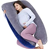 AS AWESLING Pregnancy Pillow, U Shaped Full Body Pillow, Nursing, Support and Maternity Pillow for Pregnant Women with…