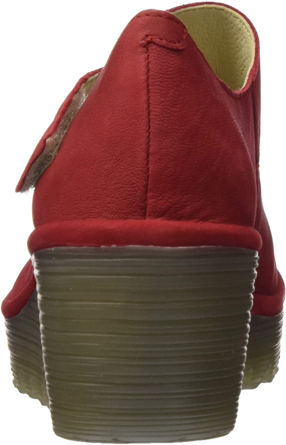 Fly London Yasi682fly, Scarpe col Tacco Punta Chiusa Donna Rosso Lipstick Red 040